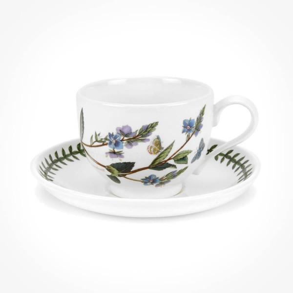 Portmeirion Botanic Garden Teacup/Saucer (T) New Speedwell