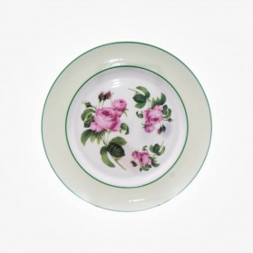 English Rose Sweet Plate Accent 8.25 inch