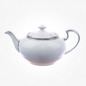Aynsley Corona Platinum Teapot 40 Oz