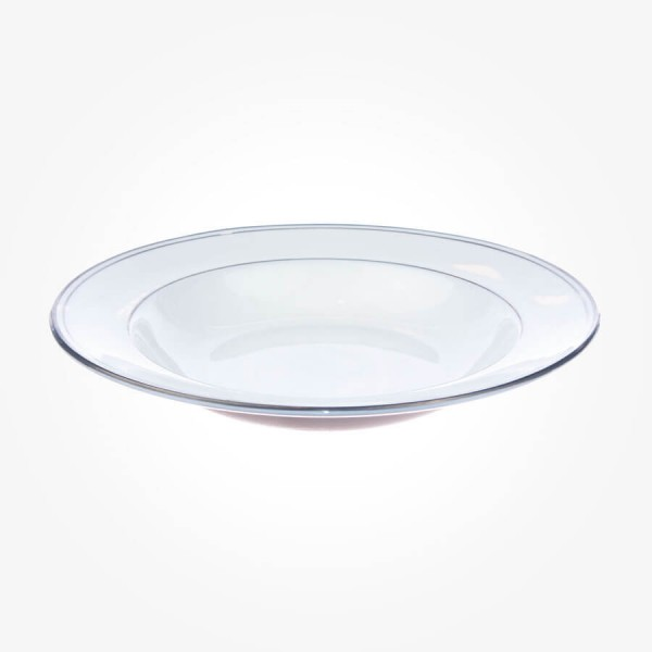 Aynsley Corona Platinum Soup Plate 9.25 inch