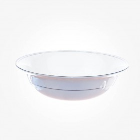 Aynsley Corona Platinum Scallop Salad Bowl