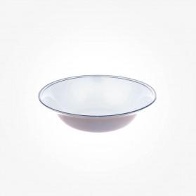Aynsley Corona Platimnum Oatmeal/Coupe Soup bowl 6 inch
