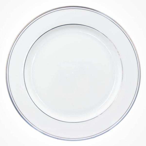 Aynsley Corona Platinum Service Plate 12.5 inch