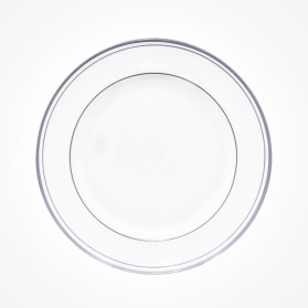 Aynsley Corona Platinum Sweet Plate 8.25 inch