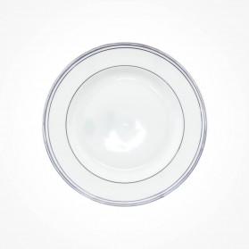 Aynsley Corona Platinum Cheese Plate 7.25 inch