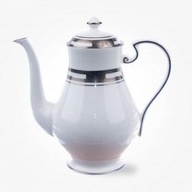 Empress White Platinum Coffee Pot