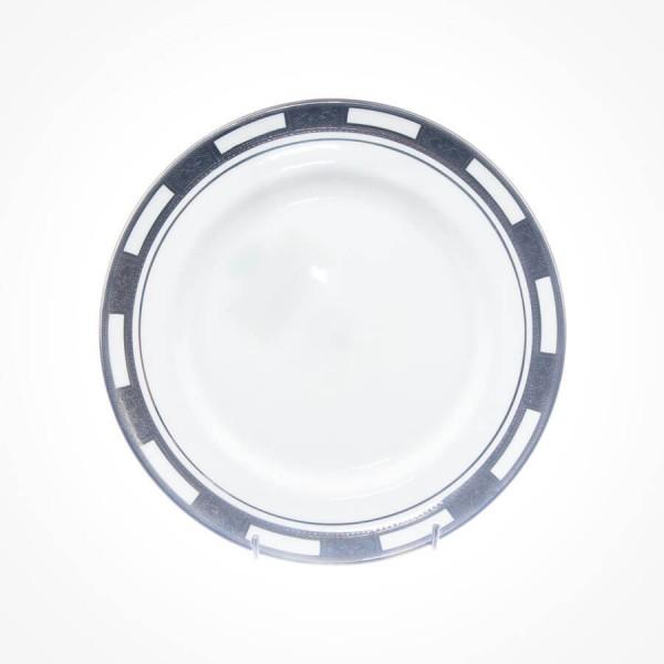 Empress White Platinum Sweet Plate 8.25 inch