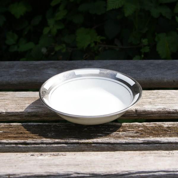 Empress White Platinum Fruit Cereal bowl 5.25 inch