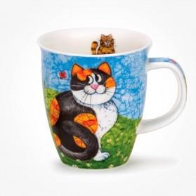 Dunoon Mugs Nevis Happy Cats Tortoiseshell