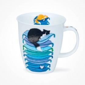 Dunoon Nevis Sleepy Cats Blue