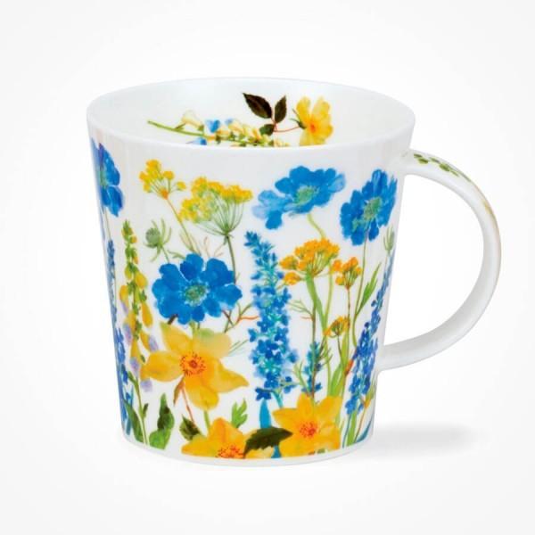 Dunoon Cairngorm mug Cottage Border Blue