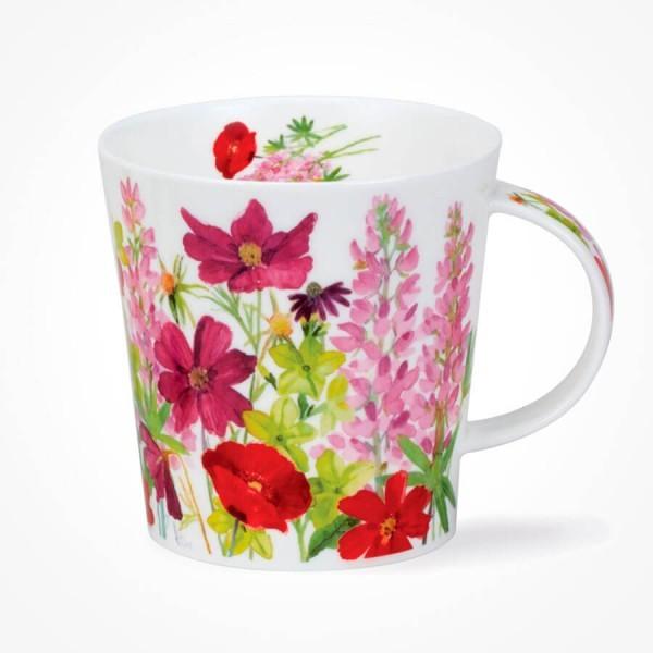 Dunoon Cairngorm mug Cottage Border Pink