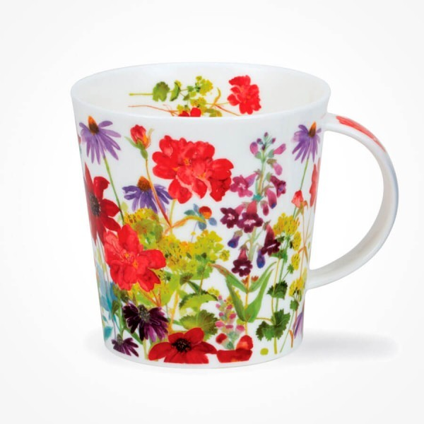 Dunoon Cairngorm mug Cottage Border Red