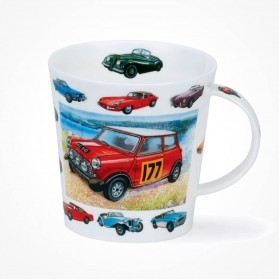 Dunoon mugs Cairngorm Vintage Collection Cars