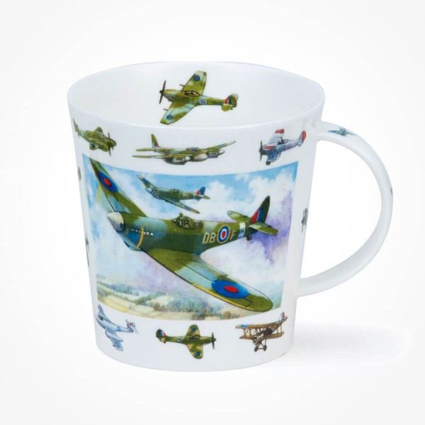 Dunoon mugs Cairngorm Vintage Collection Planes