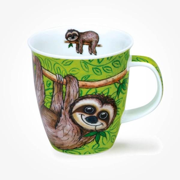 Dunoon Nevis Swingers Sloth mug