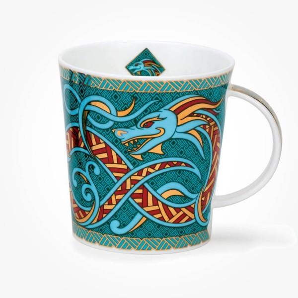 Donoon Lomond Dragons Turquoise Mug