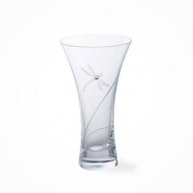 Dartington GLITZ Dragonfly Small Vase