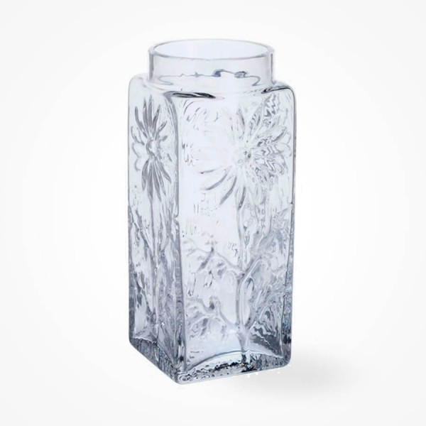 Dartington Marguerite Tall Vase Clear