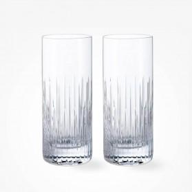 Dartington Crystal Limelight Mitre HIghball Pair