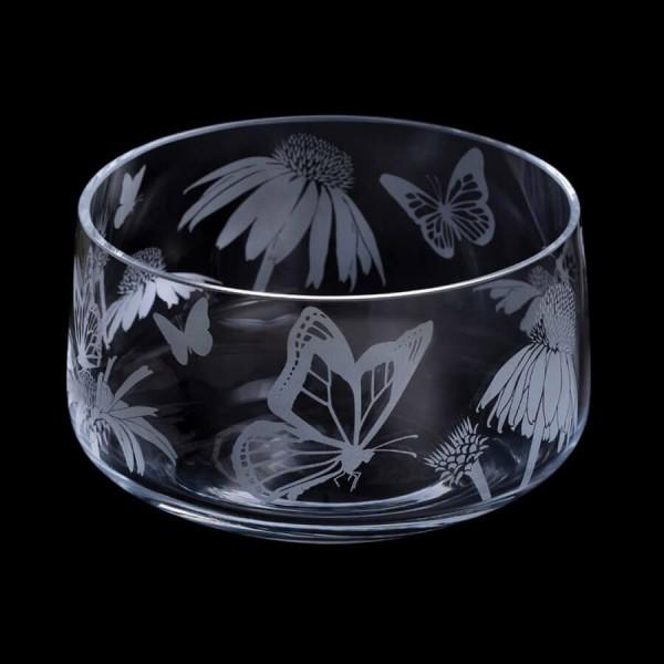 Dartington Crystal Aspect Bowl Butterflies