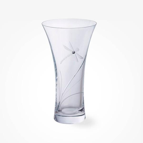 Dartington GLITZ Dragonfly Medium Vase