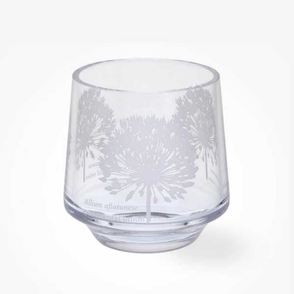 Dartington Crystal Bloom Votive Allium Tea light Holder