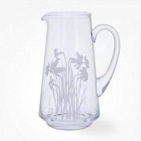 Dartington Crystal Bloom Jug Vase Daffodil