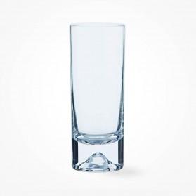 Dartington Crystal Dimple Highball Glasses Pair