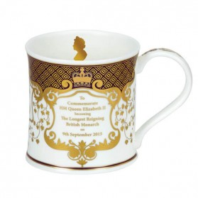 Dunoon Mugs Wessex Longest Reigning British Monarch