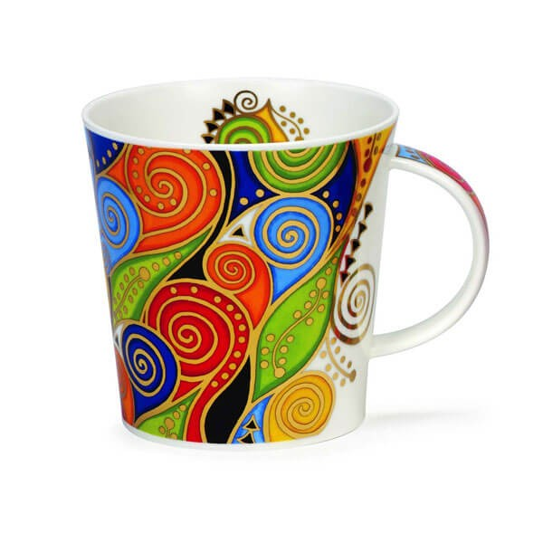 Dunoon Mugs Cairngorm Magnifico Scrolls