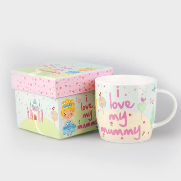 Little Rhymes Cinderella I Love My Mummy Mug in Hat Box
