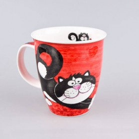 Dunoon Mugs Nevis Crazy Gang Cat mug