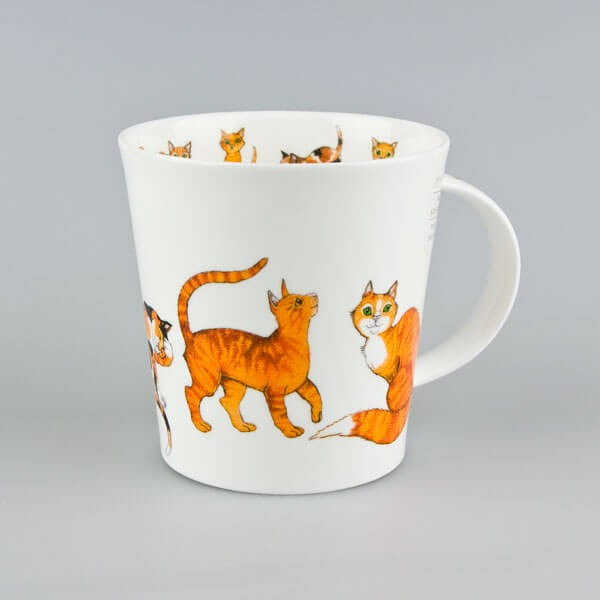 Cat Mug Dunoon Cairngorm Paws for Thought Ginger
