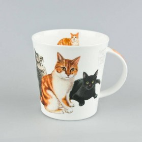 Dunoon Mugs Cairngorm Cats and Kittens Ginger