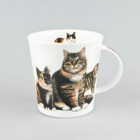 Dunoon Mugs Cairngorm Cats and Kittens Tabby