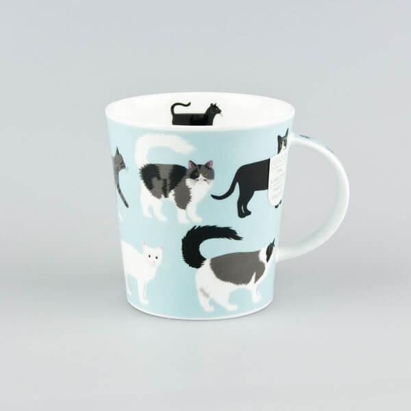 Dunoon Lomond Free Range Cat Mug
