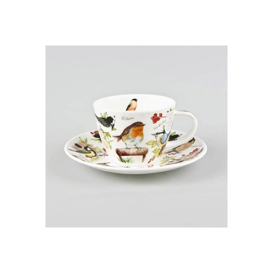 Dunoon Birdlife Tea Cup Amp Saucer Gift Box