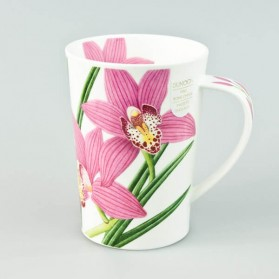 Dunoon mugs Argyll Orchids Pink