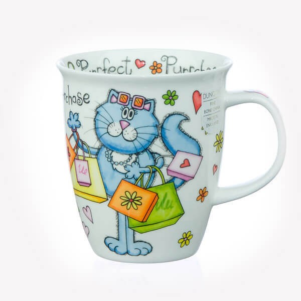 Dunoon Nevis Purrfect Cats Purchase Mug