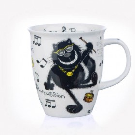 Dunoon Nevis Purrfect Cats Purrcussion Mug
