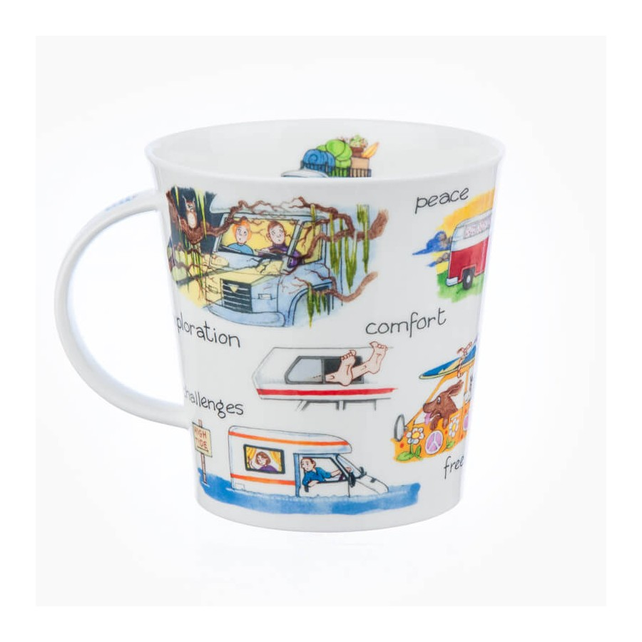 sc 1 st  Chloris Tableware & Dunoon Cairngorm My Camper Van - My Series