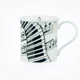 Dunoon Mugs Bute Ivory Music
