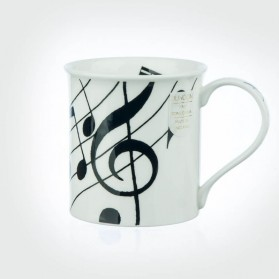 Dunoon Mugs Bute Ebony Music