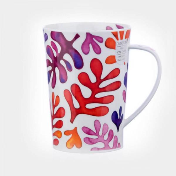 Dunoon mugs Argyll Laguna Red
