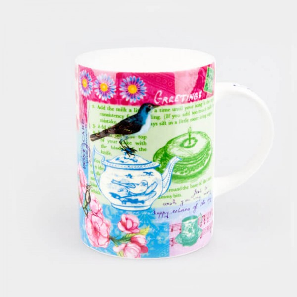 Queens Lemon Grass Linda Edwards Make A Wish Milan Mug