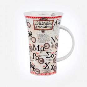Dunoon Mugs Glencoe Greek Alphabet