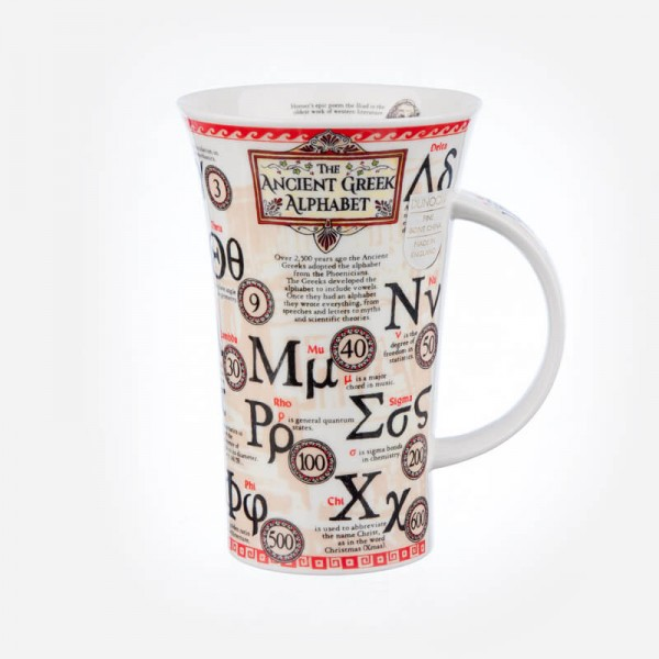 Dunoon Mugs Glencoe Greek Alphabet