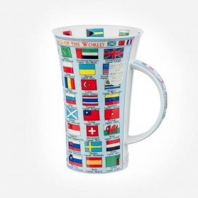 Dunoon Mugs Glencoe FLAGS OF THE WORLD