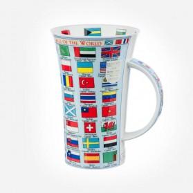 Dunoon Mugs Glencoe FLAGS OF THE WORLD
